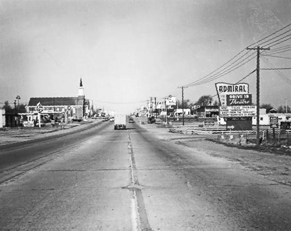 1950s Le Admiral Drive Tulsa Ok Description And Inn Entrance