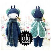 "Ravelry: ""BUZZ"" - lalylala crochet pattern N° III - House Fly pattern by Lydia Tresselt"