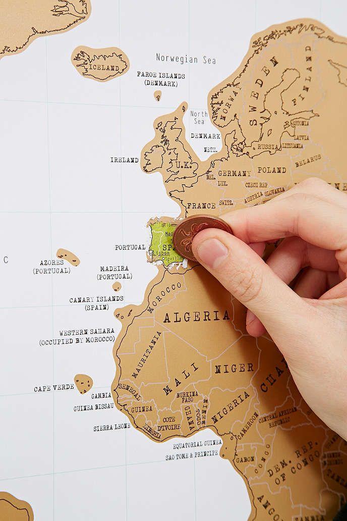 Cape Verde Map World%0A Scratch Map