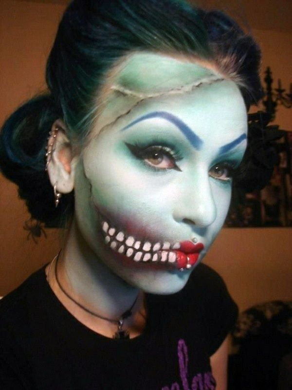 Cool Halloween makeup tips for a unique look Halloween baby - halloween horror makeup ideas