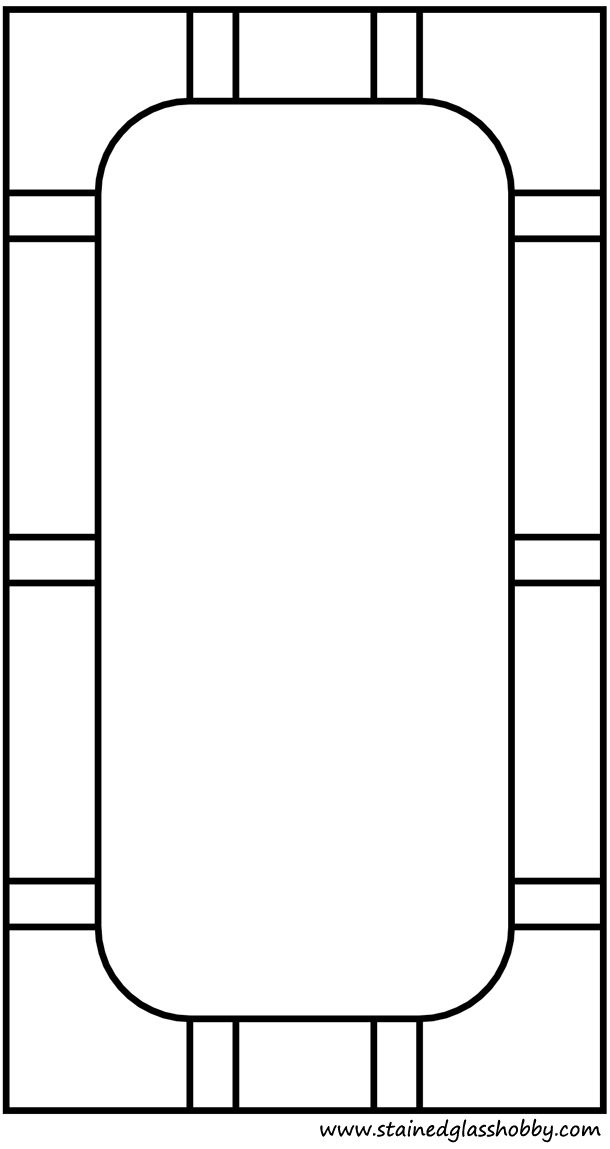 Rectangular Frame Pattern
