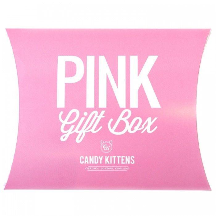 Candy Kitten Pink Gift Box Pink Gift Box Pink Gifts Pink
