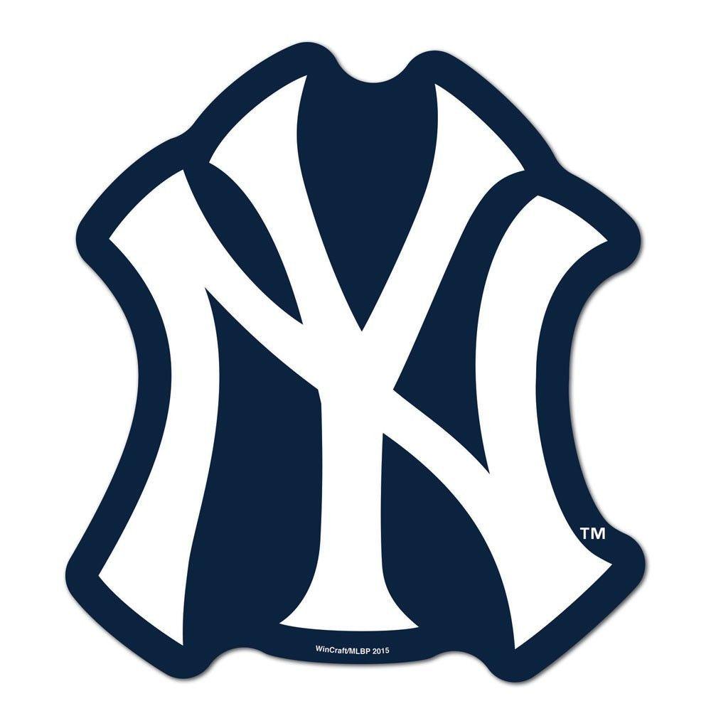 New York Yankees Mlb Automotive Grille Logo On The Gogo New York Yankees Logo Yankees Logo New York Yankees Game