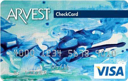 Splash - 070 Arvest Debit Card Design  You can order yours