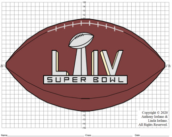 Football With Super Bowl Trophy Liv Mystery Picture 4 Quad Mystery Pictures Super Bowl Trophy Coordinate Graphing