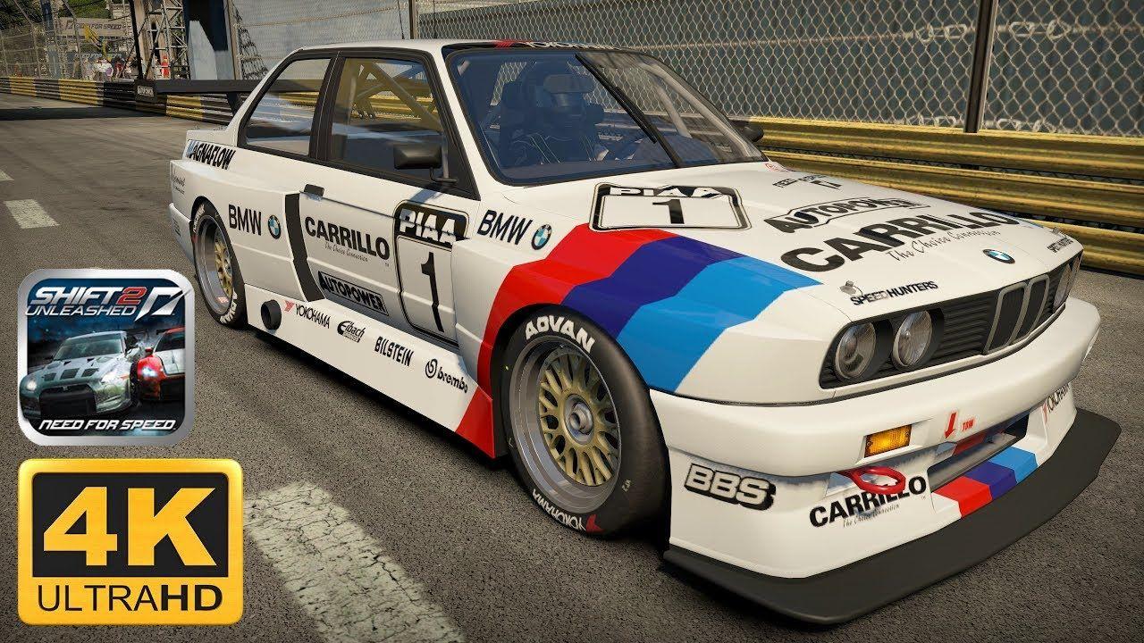 Need For Speed Shift 2 Monaco Bmw M3 E30 Sport Evolution 4k 60fps