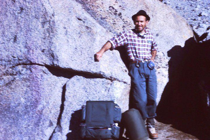My Grandfather's Climb of Mt. Darwin-- 1960