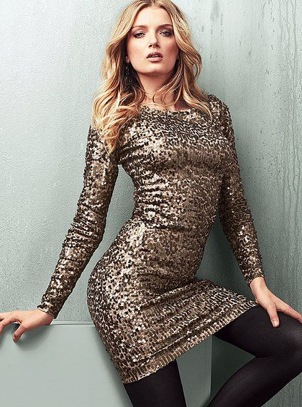I'm resisting the urge to buy this glitter sweater dress. I don't ...