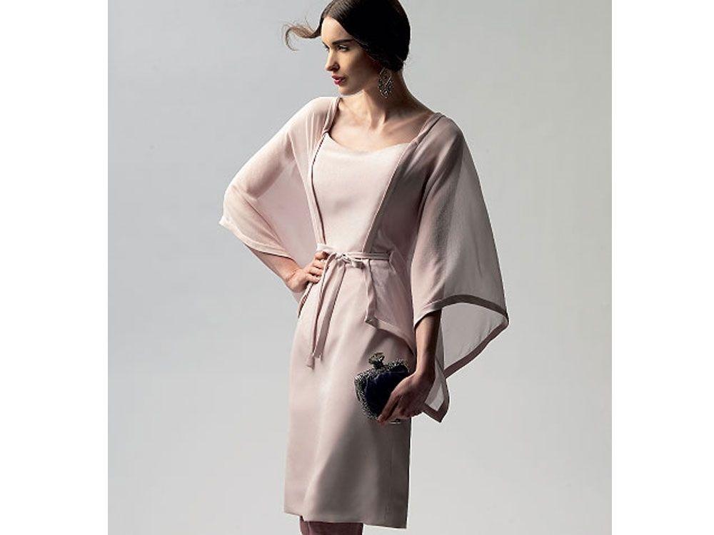 Schnittmuster Vogue 1330 Kleid - Vogue Schnittmuster Kleider - im ...