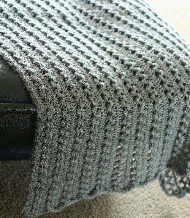Hairpin Lace Blanket w/o fringe | Arts-n-Crafts | Pinterest | Horca ...
