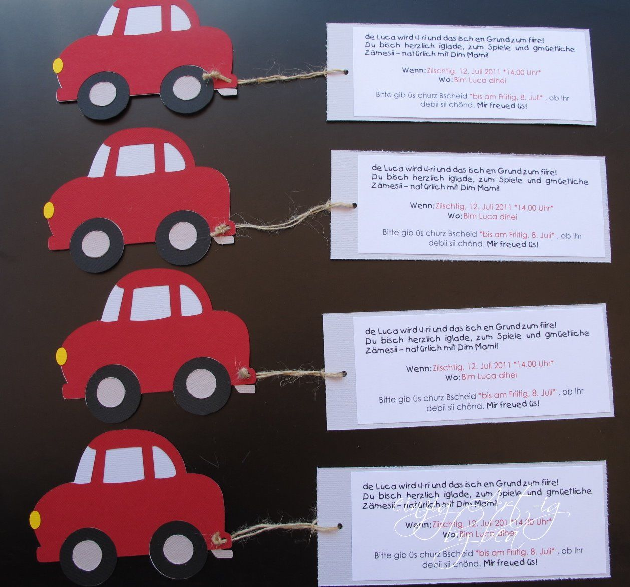 marvelous einladungskarten kindergeburtstag cars #1: Bildergebnis für einladungskarte kindergeburtstag jungs basteln 8
