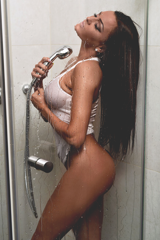 Sexy cold shower photos