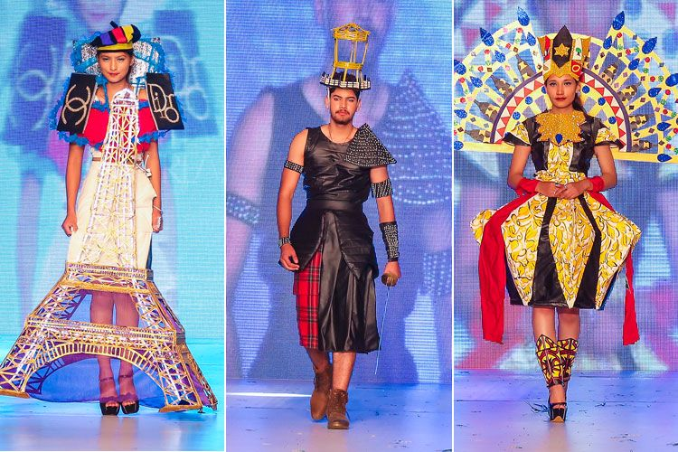 Exploring World Heritage Culture At Graduation Fashion Show Fashion Show Technology Fashion Graduation Style