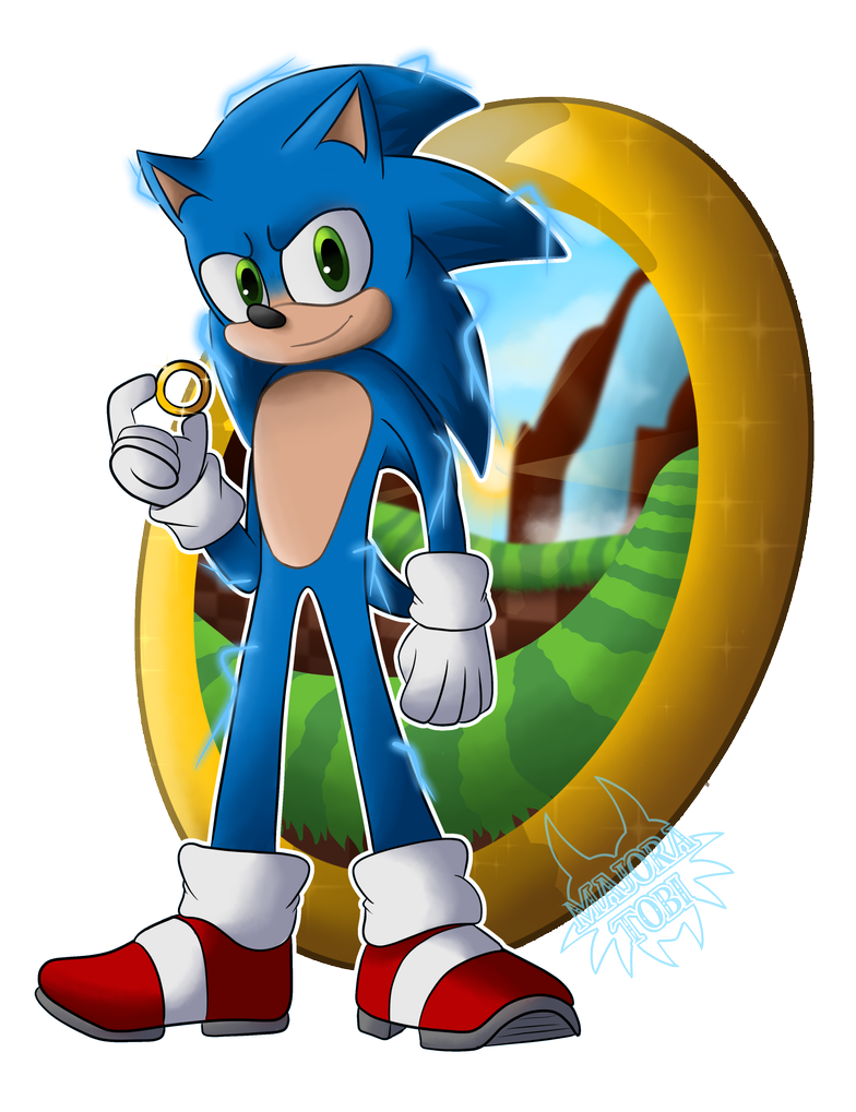 Movie Sonic By Majoratobi On Deviantart Sonic Hedgehog Art