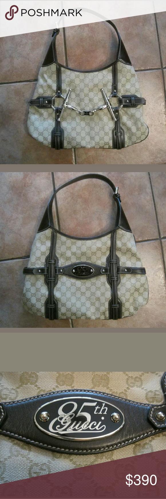 ce61cf1cd6d8 GUCCI HORSEBIT 85TH ANNIVERSARY HANDBAG Beautiful! In brand new condition ~ Gucci  Horsebit Hobo Handbag