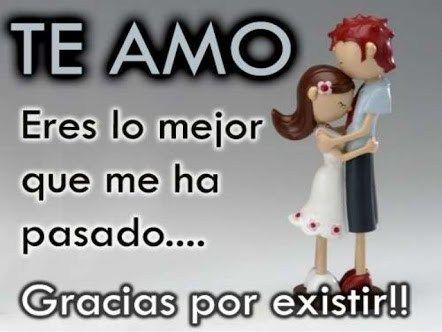 Frases Para Dedicar A Mi Pareja Amor Mio Pinterest Amor