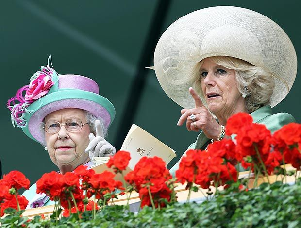 The Queen and Duchess of Cornwall