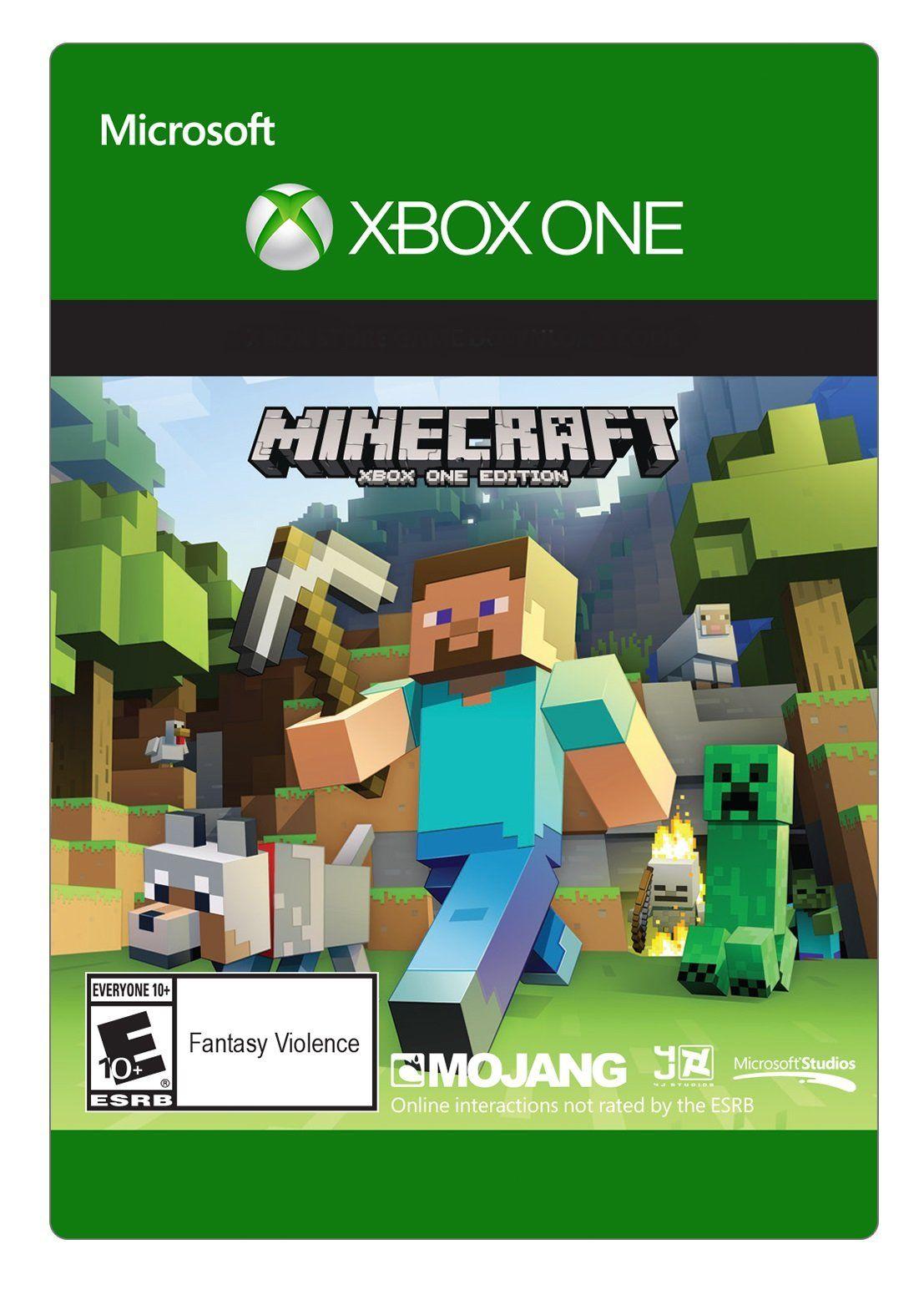 Amazon.com: Minecraft: Xbox One Edition - Xbox One [Digital Code