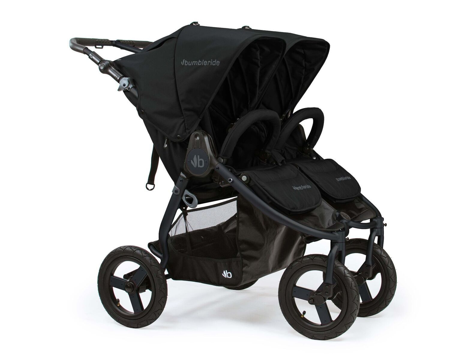 Bumbleride Indie Twin Double Jogging Stroller Twin