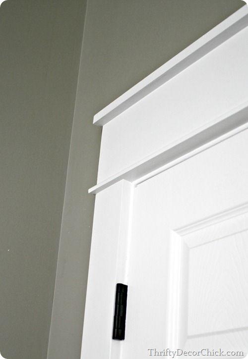 My Love Chunky Trim Craftsman Style Doors Craftsman Door