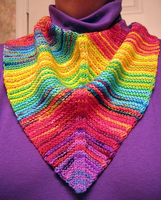 Mitered Baktus Kerchief Variations By Melody Johnson Free Pattern