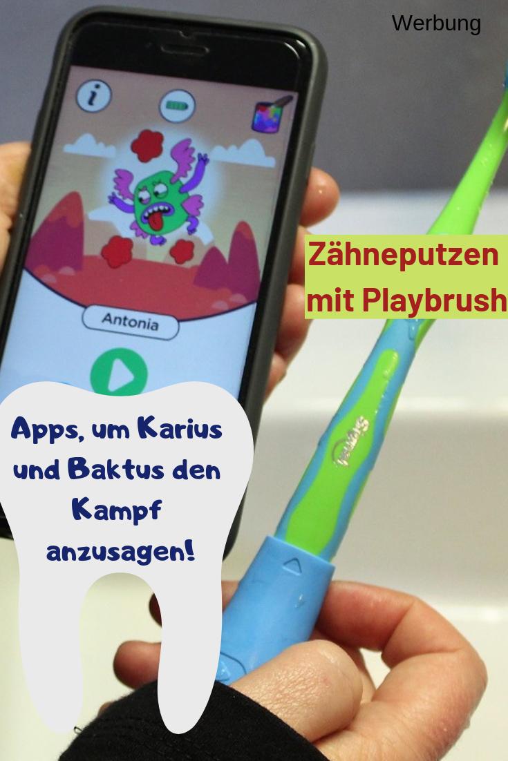 Kampf Dem Karies Mit Playbrush Wenn Kinder Sich Spielerisch Auf Den Zahn Fuhlen Karies Kinder Zahne
