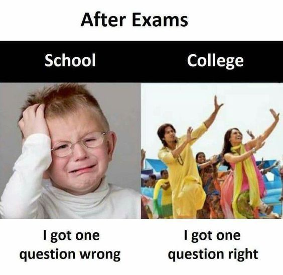 Funny Student Memes For Every High School Or College Student School Quotes Funny Exam Quotes Funny Funny School Jokes