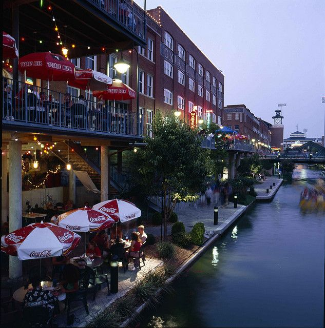 Bricktown Canal Oklahoma City Ok Bricktown Oklahoma City Oklahoma City Things To Do Oklahoma City