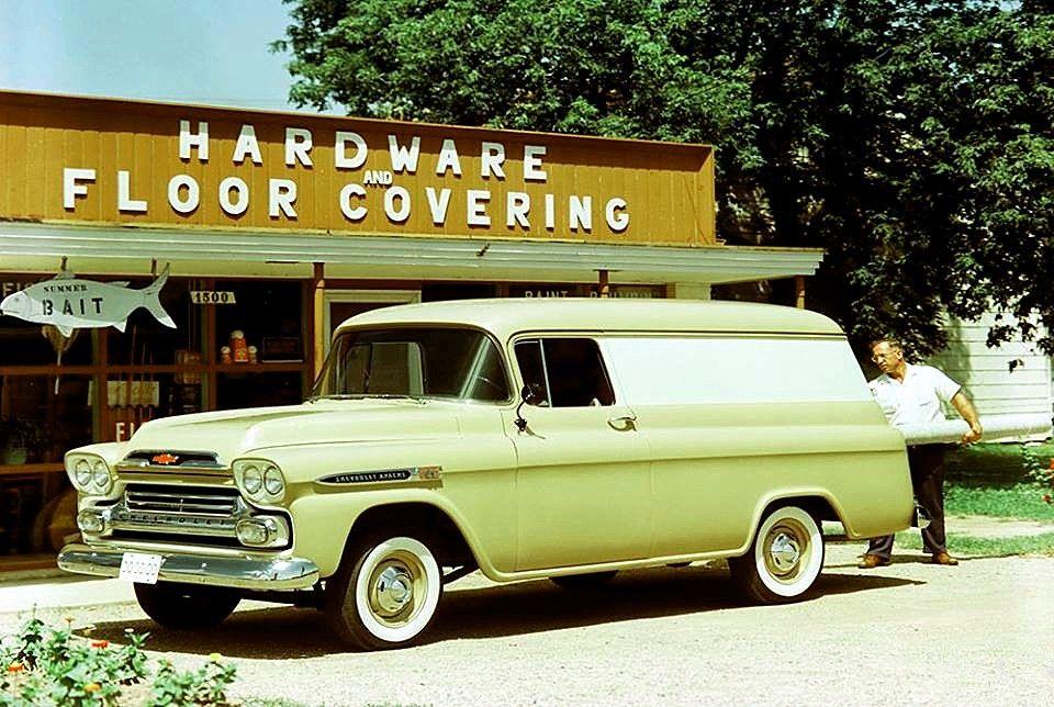1960 Chevy Panel Van Panel Truck Chevrolet Chevrolet Trucks