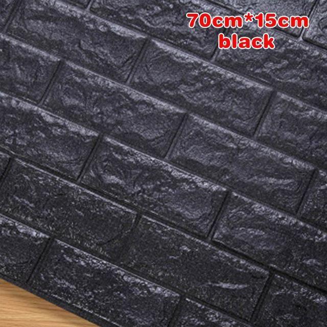 Best 3D Wall Stickers Wall Brick Pattern Self Adhesive 400 x 300