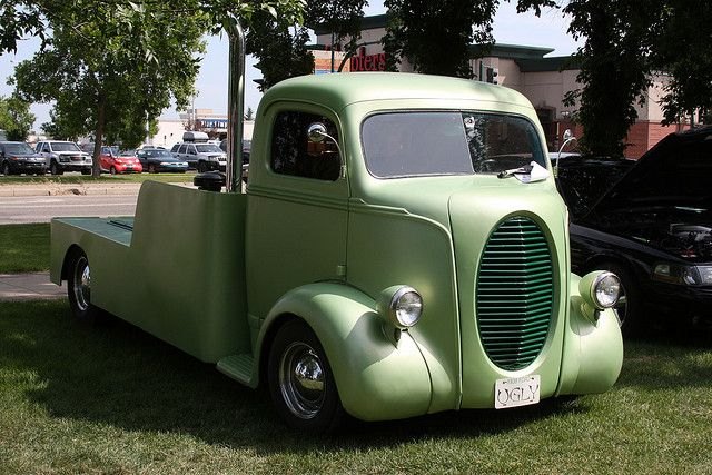 1938 Ford Cab Over Truck Old Pickup Trucks Antique Trucks Cool