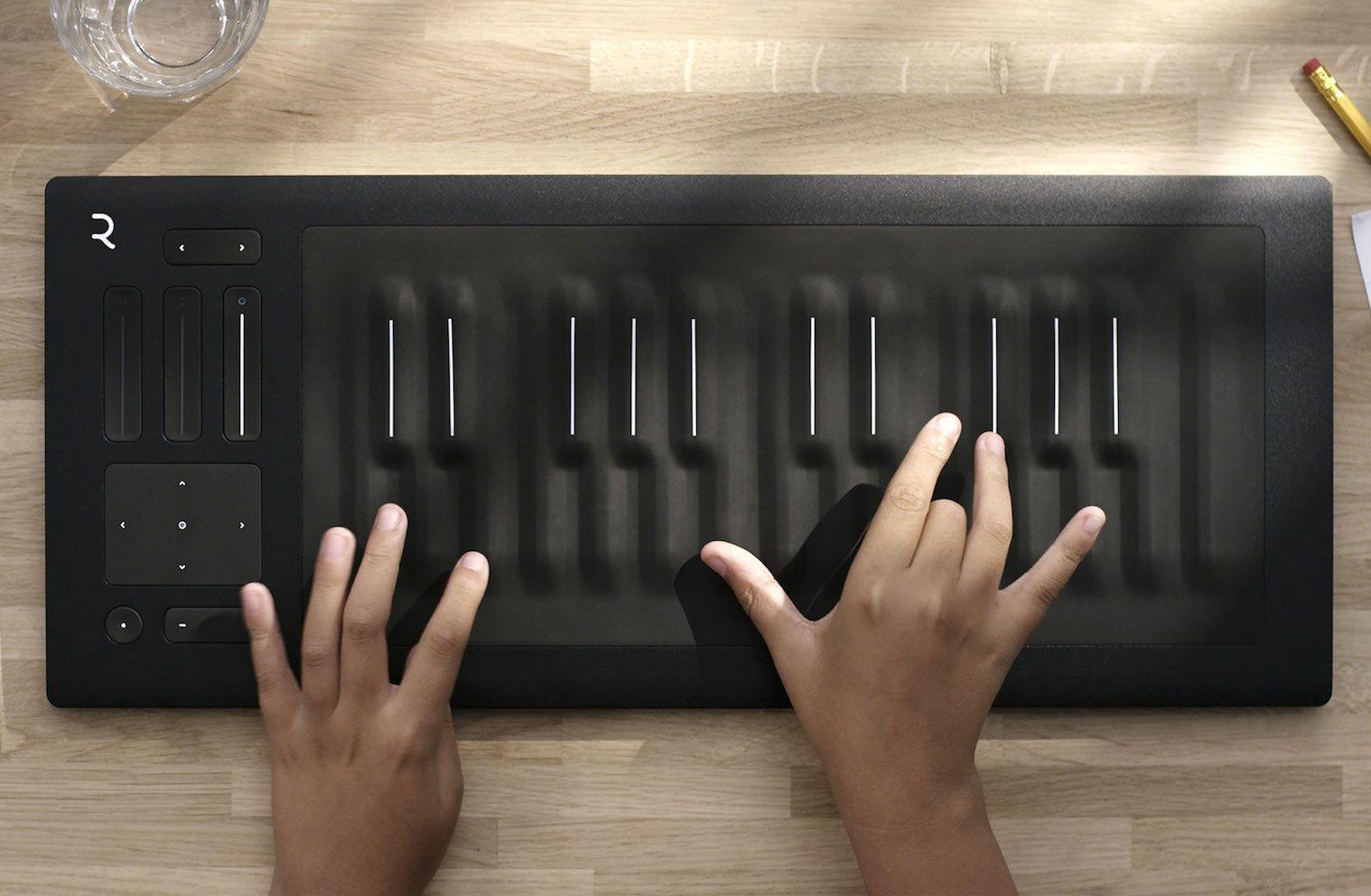 Seaboard Rise Midi Controller Mmminimal Music Keyboard Midi Controllers Keyboard