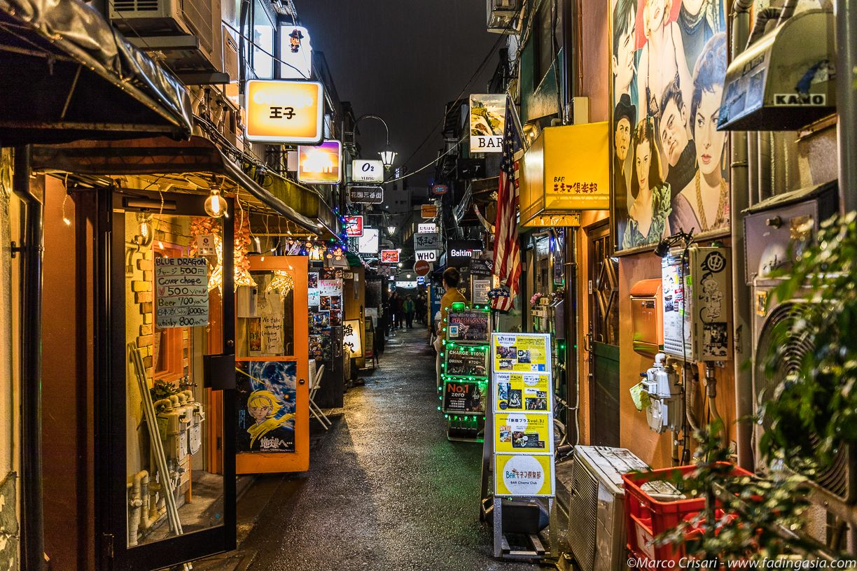 Golden Gai in Shinjuku, wander the streets and explore the ...