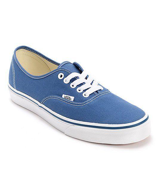 Vans-Authentic-Navy-Canvas-Skate-Shoes--Mens--
