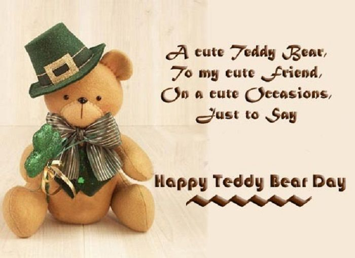 A Red One With Heart Of Course Happy Teddy Bear Day