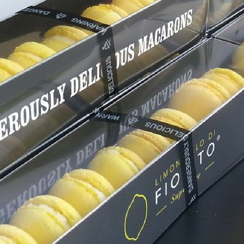 Limoncello Di Fiorito Macarons | Good Things From Italy ...
