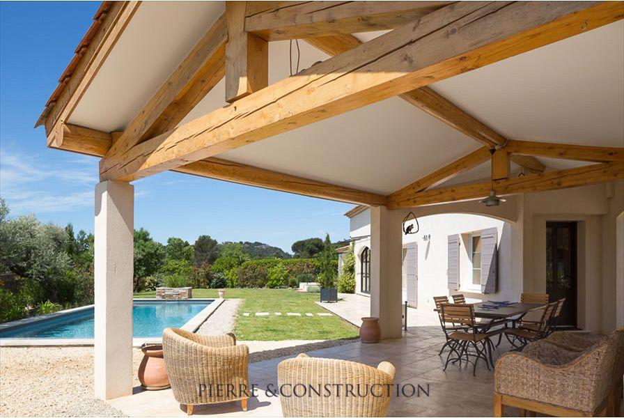 Realisation villa provencale maison pinterest for Style de maison a construire