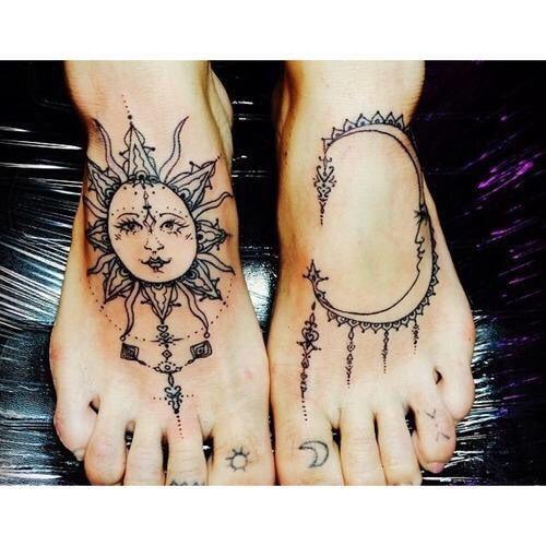 Feet tats