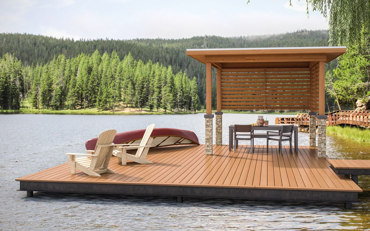 Deckorators Frontier decking is unlike any other wood