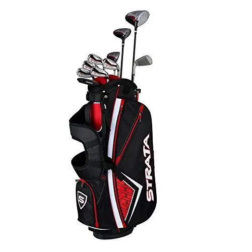 Callaway Men S Strata Plus Complete Golf Set 14 Piece Right Hand Steel Golf The Golf Apparel Golf Club Sets Golf Drivers Golf Clubs