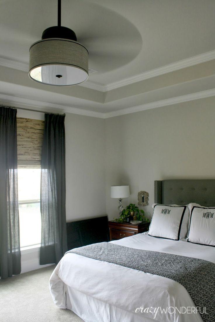 Crazy Wonderful DIY drum shade ceiling fan Home Pinterest Diy