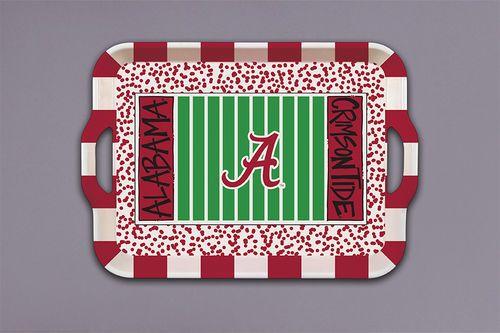 Alabama Melamine Tray $18 Must have!! #RollTide #alabama