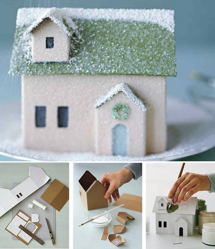 Fabrication maison en carton kids jeux homemade pinterest maisons en carton fabrication - Fabrication maison en carton ...