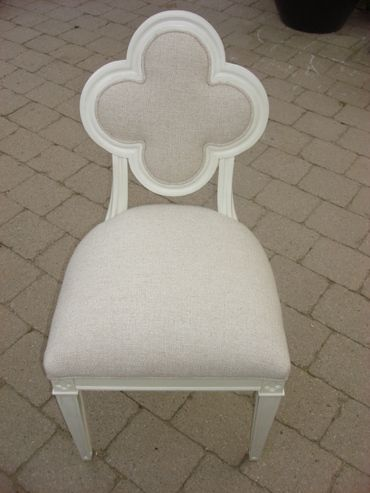 Clover Leaf Back Chair   Mecox Gardens