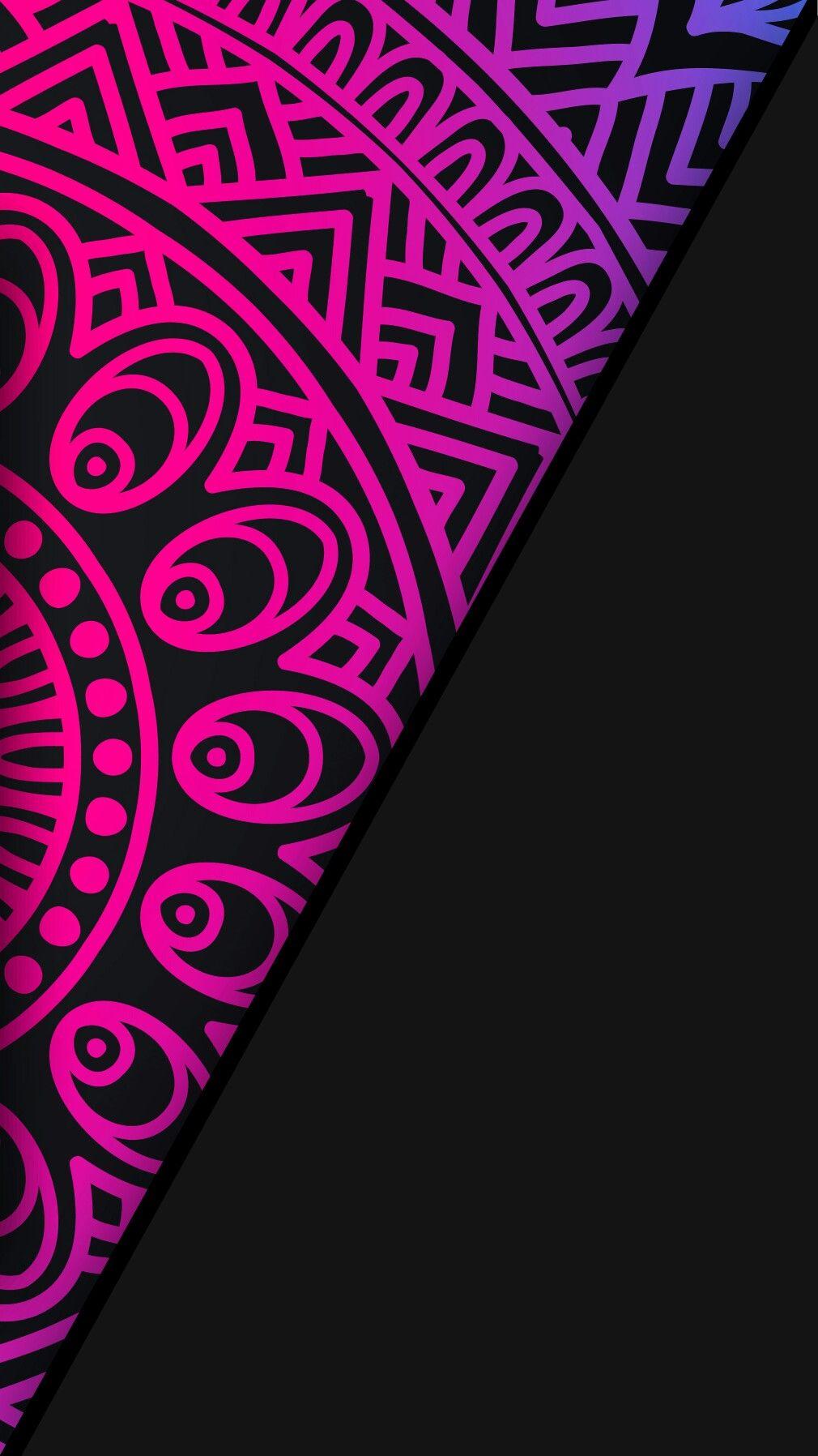 Black Neon Wallpaper Colour