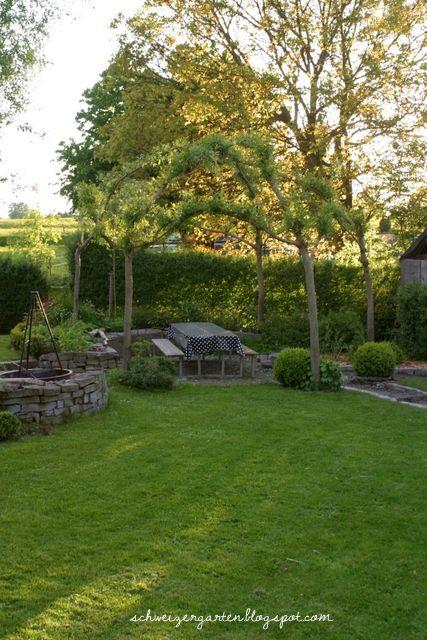 Ein Schweizer Garten Der alljährliche Weidenschnitt