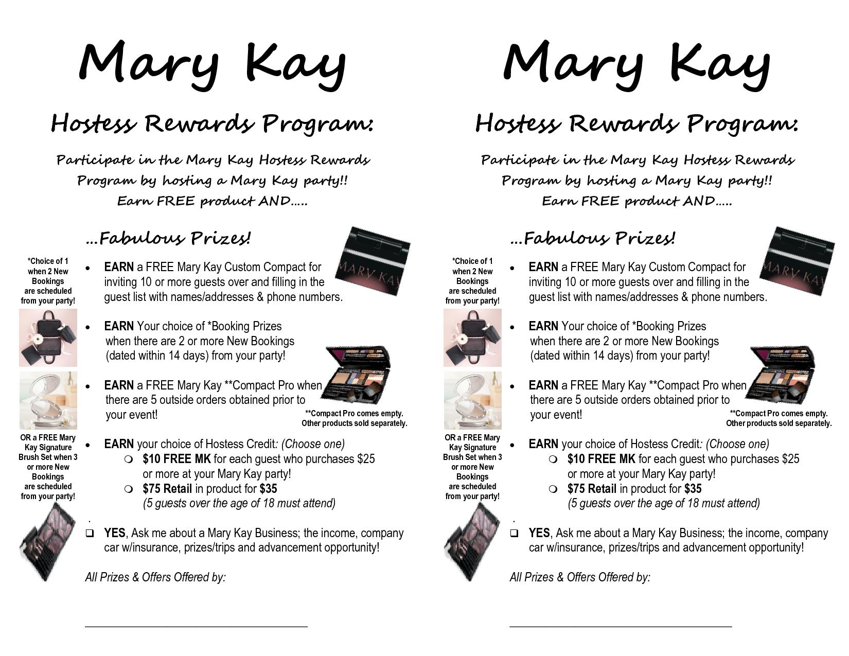 Mary Kay Hostess Packet Bing Images Mary kay hostess