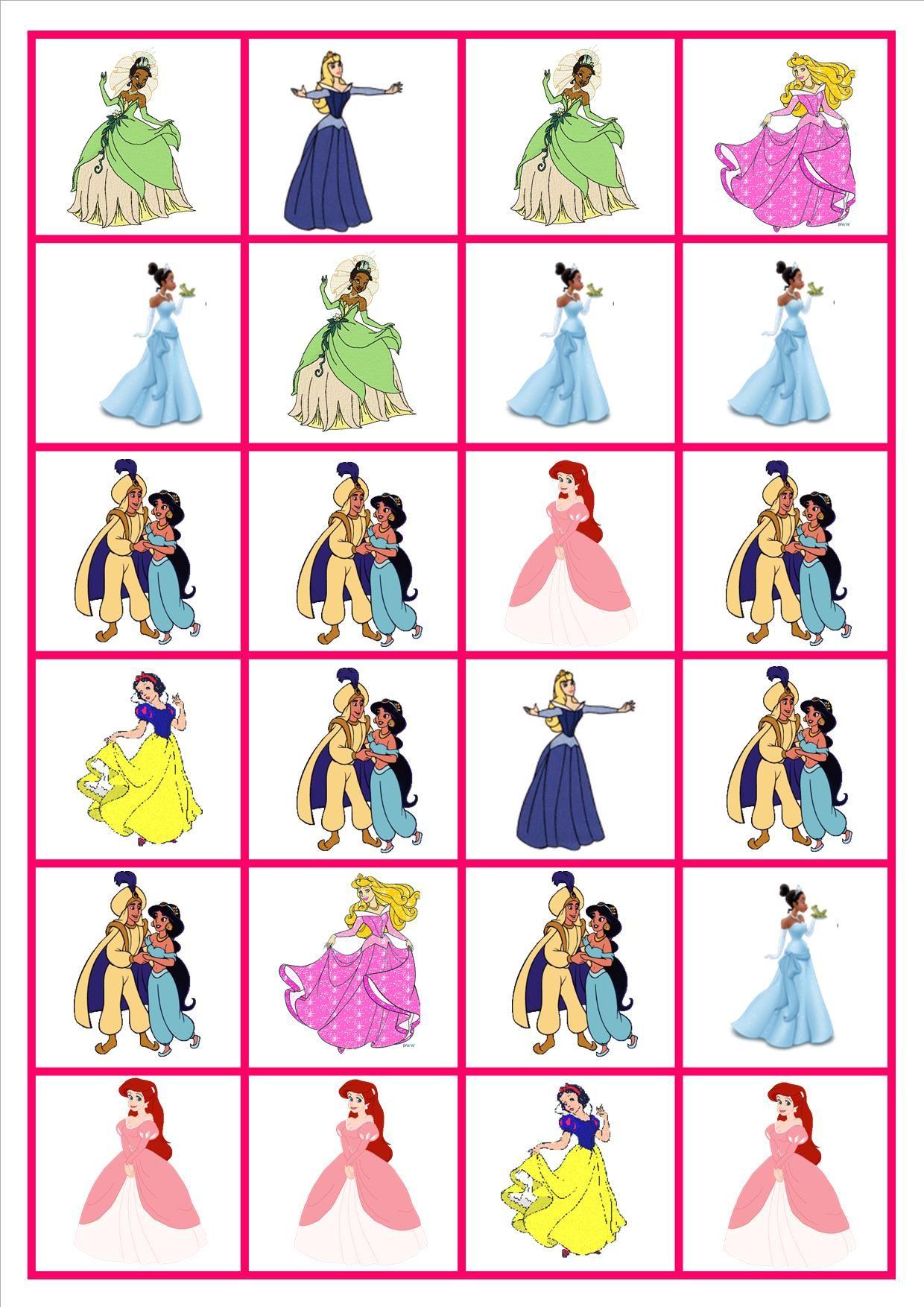 Domino Prinses Jeux De Dominos Jeux Maternelle Et Princesse