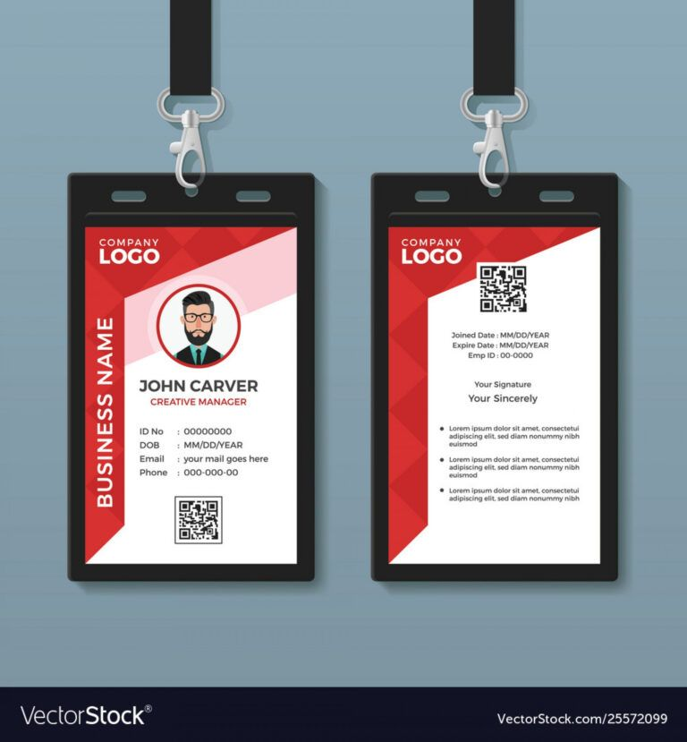 Free Creative Identity Card Design Template Psd Psdfreebies Com Identity Card Design Id Card Template Card Design