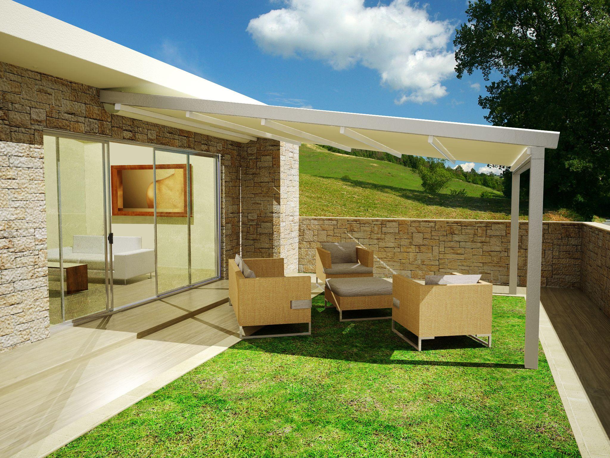 Boomerang fa3 struttura ombreggiante in alluminio - Tenda da tetto oasis ...